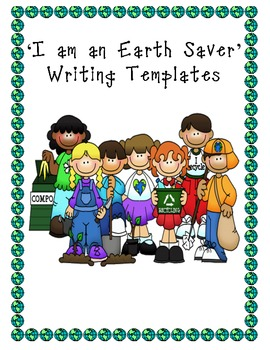 Environment Writing Activities & Templates