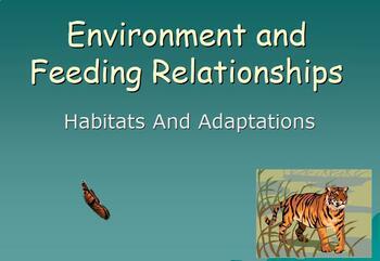 Environment and Adaptations