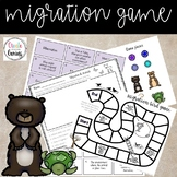 Environment and Migration Game, Includes Task Cards