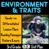 Environment and Traits 5E Unit Plan for Third Grade