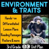 Environment and Traits 5E Unit Plan for Third Grade