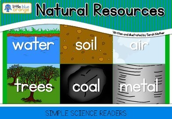 environment book natural resources by little blue orange tpt