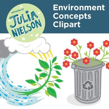 Environment concepts clipart