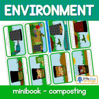 Environment  mini book - composting