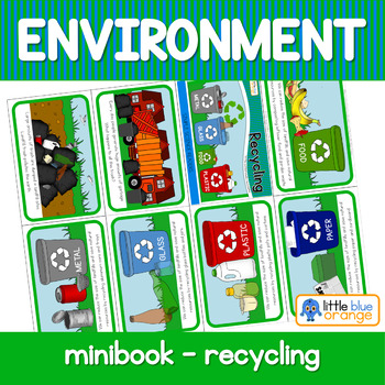 Environment  mini book - recycling