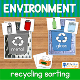 Environment - recycling sorting activity