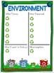 Environment schema  worksheet