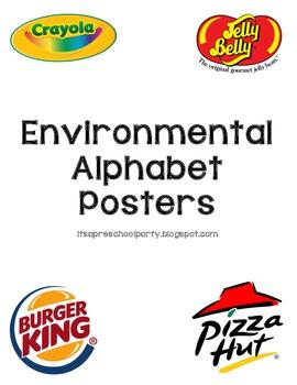 Environmental Alphabet Posters