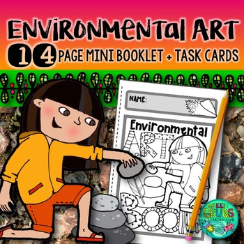 Environmental Art {An activity pack celebrating art in the outdoors}
