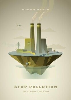 Environmental Awareness Poster - Pollution