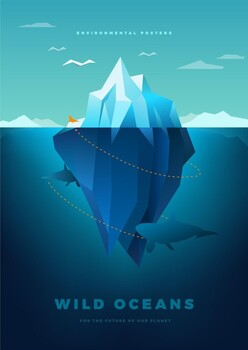 Environmental Awareness Poster - Wild Oceans