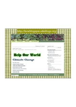John Muir  Environmental Challenge   Help Our World