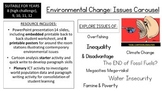 Environmental Change: Issues Carousel (Senior Edition)