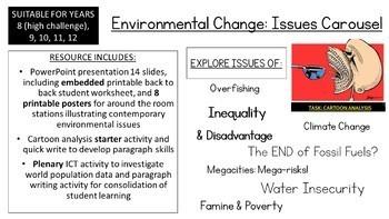 Environmental Change: Issues Carousel (Senior Edition)
