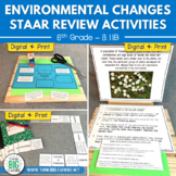 Environmental Changes 8th Grade STAAR Review Activities