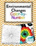 Environmental Changes Color-by-Number (Short-term and Long-term) TEKS 8.11B