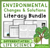 Environmental Changes: Science and Literacy Bundle (3-LS4-4)