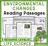 Environmental Changes: Non-Fiction Reading Passages & Ques