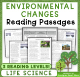 Environmental Changes: Non-Fiction Reading Passages & Ques