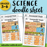 Environmental Changes Predictions - Doodle Sheet - So Easy to Use!