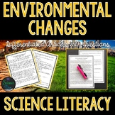 Environmental Changes  - Science Literacy Article