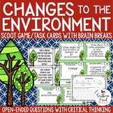 Changes to the Environment Scoot Game/Task Cards