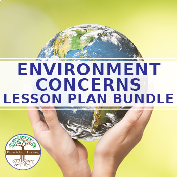 Environmental Concerns BUNDLE - Ocean, Wildlife Threats and Agriculture Impact
