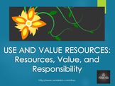 Environmental Consciousness: Resources and Responsibility (Transdisciplinary)
