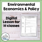 Environmental Economics and Policy [Distance Learning]