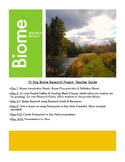 Environmental Education, Biome Research & Key Note Project