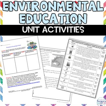 Environment and Earth Science Unit of Hands on and Inquiry Activities