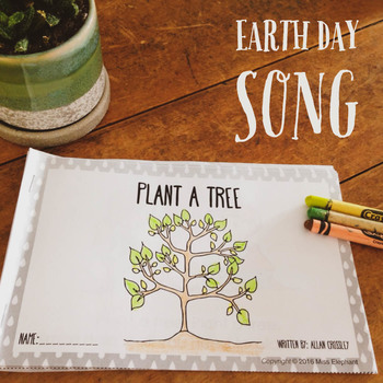 Earth Day Emergent Reader and Song Earth Day Environmental