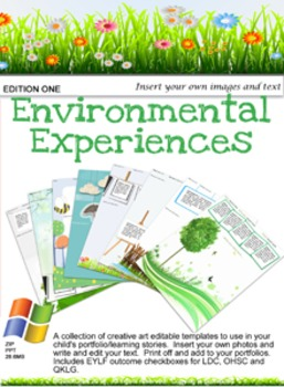EYLF Environmental Experiences Edition 1