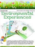 EYLF Environmental Experiences Editable Pack