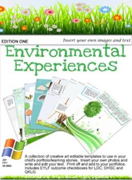 Environmental Experiences Edition 1