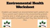 Environmental Health Concerns Assignment