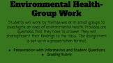 Environmental Health- Group Work Assignment