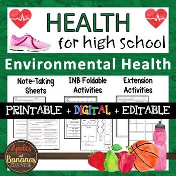 Environmental Health - Interactive Note-Taking Materials
