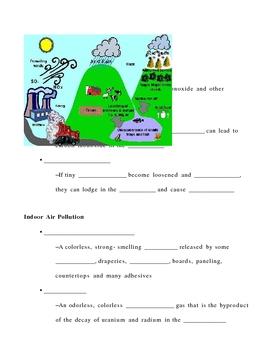 Environmental Health Notes Outline Lesson Plan