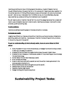 Environmental Impact Project