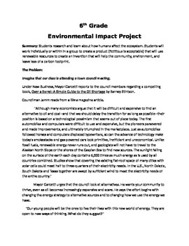 Environmental Impact Project