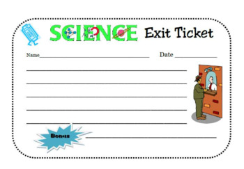 Environmental Impacts: Short Mini Question Assessment or Exit Ticket