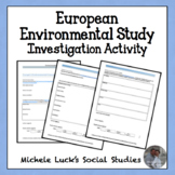 Environmental Investigation on Europe for Geography