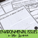 Environmental Issues in Latin America BUNDLE (SS6G2, SS6G2