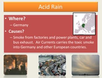 Environmental Issues of Europe GPS E9 6th Grade Social Studies