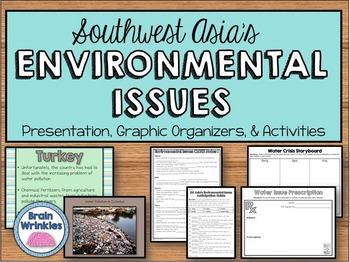 Environmental Issues of Southwest Asia  (SS7G6)