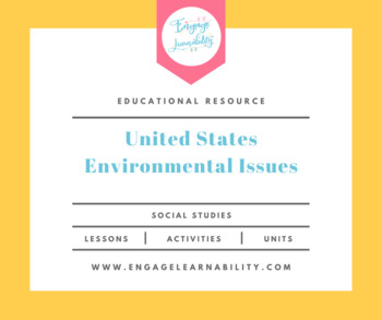 Environmental Issues of the United States Geography PowerPoint