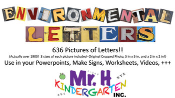 Environmental Letters (Pictures of Letters, Graphics, Clip Art)