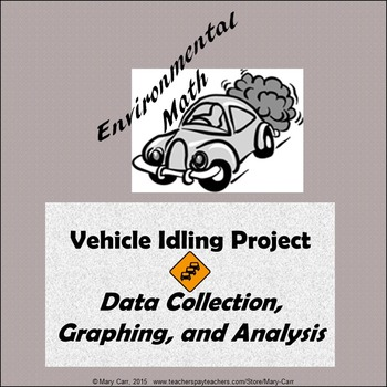 Data Collection, Graphing, and Analysis of Vehicle Idling - Environmental Math