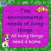 Environmental Needs of Living Things